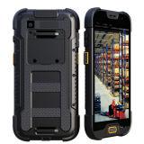 5-Inch ordenador Handheld industrial portable, teléfono elegante móvil rugoso con el explorador del código de barras