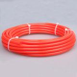 Orange tressée des tuyaux d'air du polyester TPU 12*8