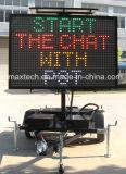 Знак уличного движения сообщения безуходного передвижного Multi цвета переменный для регулирования дорожного движения