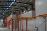 Riga di rivestimento della polvere di rendimento elevato per i prodotti metalliferi