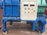 Kleines Double Shaft Tire Shredder Waste Recycling Machine für Sale