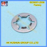 Cales d'acier inoxydable, rondelle plate de rondelle à ressort (HS-SW-001)