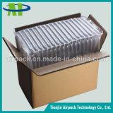 Sacola de embalagem de coluna de ar transparente para caixa de presente