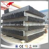 Sección hueco de la sección cuadrada de acero 75 x 75 de la depresión del cuadrado del aislante de tubo de la pared fina