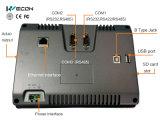 """Wecon 7 """" HMI связывает с PLC много тавр"""