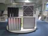 Filtro de ar HEPA do V-Bank para o sistema HVAC de caixa rígida