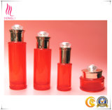 Frasco cor-de-rosa cosmético da alta qualidade com a tampa da forma do diamante