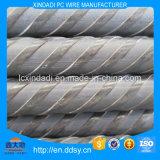 fil de 7.00mm de fer ou d'acier non allié avec les côtes spiralées
