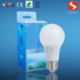 좋은 품질 E27 A60 3000k 6W LED 전구