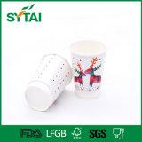 Biodegradierbare heißes Getränk-doppel-wandige Papierisoliercup mit PET beschichteten