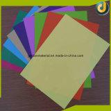 Tampas coloridas do emperramento da folha do PVC da venda por atacado grande da quantidade para o caderno