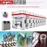 Machine d'impression automatisée par série de gravure de papier de longeron d'asy-e
