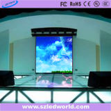 Pantalla de visualización de fundición a presión a troquel a todo color de alquiler de interior de LED P4 que hace publicidad del panel (CE, RoHS, FCC, CCC)