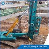 Équipement hydraulique de l'empilage TH-60 pour les piles préfabriquées de béton armé