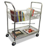 Porte-panier en panier réglable en métal / panier pour stockage de fichiers / papier (TR753590A2CW)