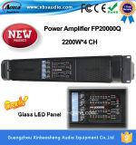 amplificador de potencia profesional de los canales 4000W 4 Fp20000q