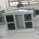 Grey Granite 4 Niche Columbaria com Alcove
