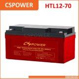 Batterie exempte d'entretien de gel du fournisseur 12V70ah de la Chine - industrielle