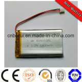 3.7V Li-Po 1500mAh Battery voor Electrical Product