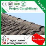 Vente Hot Africa Matériau de toiture Mode pierre Colorful Tiles métal revêtu de toit