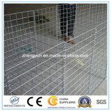 입힌 직류 전기를 통한 /Galfan/PVC/PE는 철망사 Gabion 상자 바구니를 용접했다