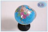 etiqueta engomada del globo del mundo del inglés de los 8.5cm