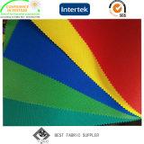 Pu bedekte 100% de Polyester Geweven Stof van de Paraplu van het Zonnescherm 300*300d met Anti UV met een laag