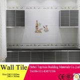 Telha cerâmica vitrificada Inkjet da parede interior do projeto da casa