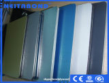 El panel de pared compuesto de aluminio con 4m m PVDF