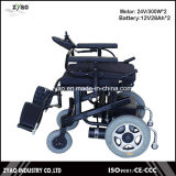 Moderner preiswerter beweglicher Leichtgewichtler, der elektrischen Rollstuhl faltet