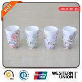 tazza di caffè di ceramica bianca 14oz con la decalcomania