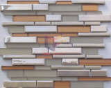 Color crema Ceramic con Glass Mosaic Tile (CFS645)