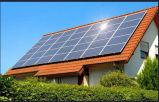 los paneles solares 3kw para el equipo de la casa (en red, los 12 paneles)