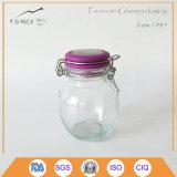 Cap 높은 쪽으로 Flip를 가진 5oz Glass Jar