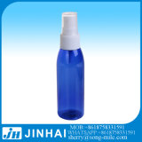 da bomba fina plástica do pulverizador da névoa do animal de estimação 60ml frasco de perfume azul