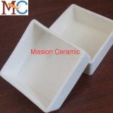 Calentador de cerámica Al2O3 Saggar de cerámica de la metalurgia de la potencia