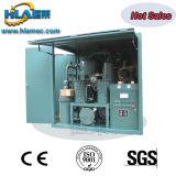 Máquina usada da filtragem do óleo lubrificante da prova do tempo vácuo transportável