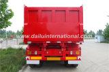 3-as Flatbed AchterAanhangwagen van /Tipper van de Oplegger van de Stortplaats, voor Zware Vervoer van de Lading