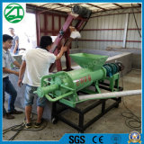 Secar o separador líquido contínuo da espiral do desperdício do estrume da máquina/vaca/porco/galinha/gado da imprensa de parafuso