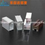 Profils en aluminium d'extrusion avec l'usinage et le traitement extérieur