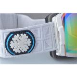 Anti lunettes antibrouillard de neige de ski d'enduit de Revo de brouillon