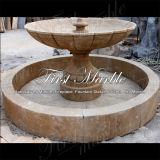 Fontana nera Mf-1048 di Empador afflitta fontana di pietra di marmo del granito