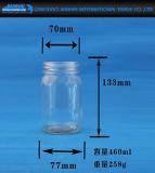 Glasflasche für Essiggurken und Nahrungsmittelspeicher