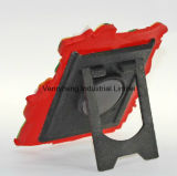 Frame plástico macio da foto da tabela do PVC do festival do dia de Natal