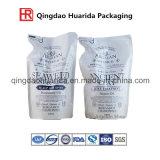 Vario di imballaggio levar in piedi il sacchetto in su di perforazione/liquido/sciampo/sacchetti del detersivo/spremuta di lavanderia