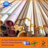 1750c tubo de cerámica del alúmina de alta temperatura -99.7% de la resistencia el 99%