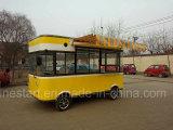 Автомобиль кухни быстро-приготовленное питания электрический передвижной для делать BBQ Teppanyaki Hotpot и горячую сосиску Hamburgar