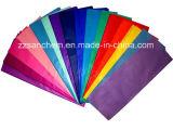 Papier de soie de soie de magnésium d'emballage de cadeau de couleur