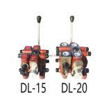 DL15 Excavatrice Pompe hydraulique Directionnel Control Valve Valve Valve de secours