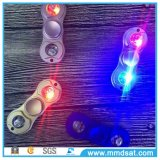LED 가벼운 장난감 알루미늄 손 핑거 방적공